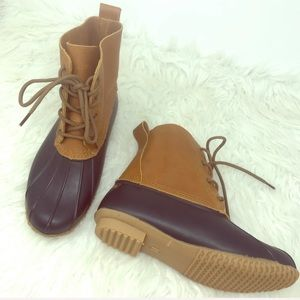 northside | leather winter duck boots